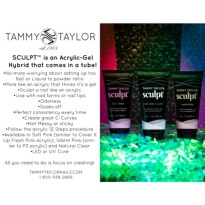 TUBE SCULPT GEL NATURAL CLEAR  TAMMY TAYLOR