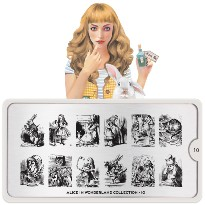 Plaque MOYOU Collection ALICE 10