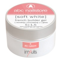 Gel UV SOFT WHITE Impuls 15gr  ABC NAILSTORE