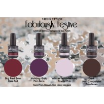 VERNIS SEMI PERMANENT FABULOUSLY FESTIVE Collection Tammy Taylor