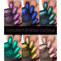 VERNIS SEMI PERMANENT BEEN THERE DONE MATTE COLOR CLUB #1255