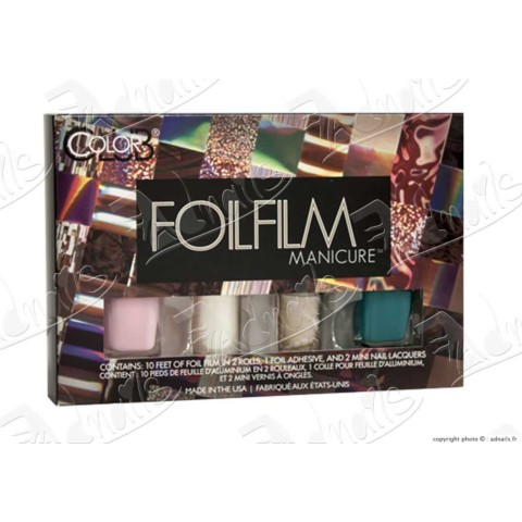 COFFRET DIY Nail Art FOILS OPAL LACE Color Club