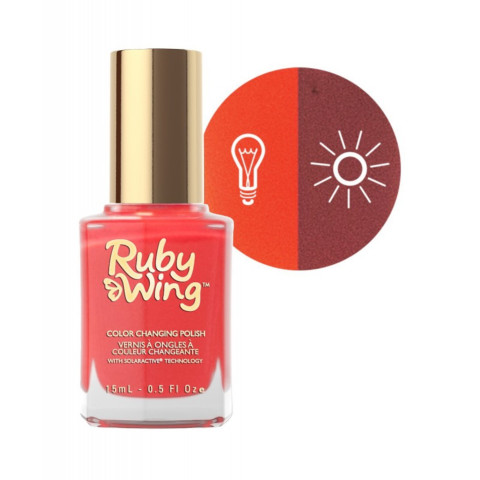 VERNIS A ONGLES CHANGE AU SOLEIL #SALOON SWEETHEART RUBY WING