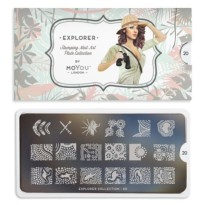 Plaque MOYOU Collection EXPLORER 20