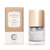 VERNIS STAMPING SILVER DUST  MOYOU