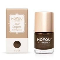 VERNIS STAMPING GOLD ESPRESSO  9ml  MOYOU