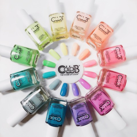 LOT DE 6 VERNIS COLOR CLUB AU CHOIX COLLECTION WHATEVER FOR EVER