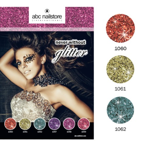 Collection complete NEVER WITOUT GLITTER ABC NAILSTORE