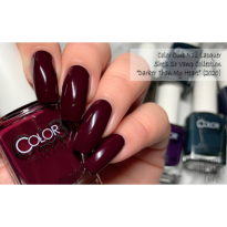 VERNIS SEMI PERMANENT  COLOR CLUB #1307 DARKER THAN MY HEART