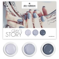 Collection complete Gray's Story ABC NAILSTORE